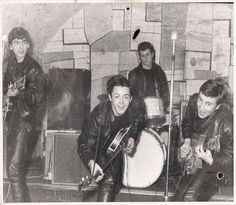 The Beatles at the Cavern Club, 1961
