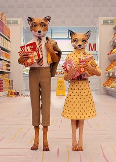 BITS: Fantastic Mr. Fox Couples Costume