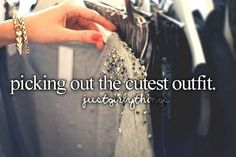 And then at school when people compliment your outfit is like the best feeling ever just sayin!