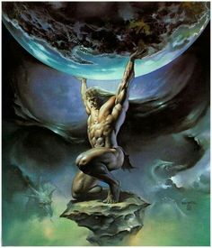 ATLAS: THE GIANT HOLDING THE WORLD ON HIS SHOULDERS