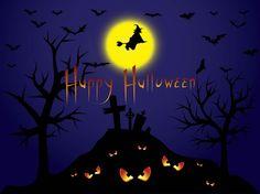 Halloween Witch Background
