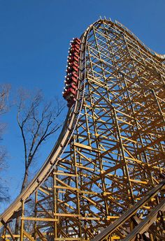 Outlaw Run | Silver Dollar City | USA Guess who is riding this in less than a month?