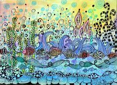 Zentangle Art by Gloria Jean Keller