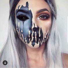 Halloween #makeuptransformation
