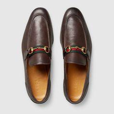 GucciWeb Horsebit Loafers hrm3aMI