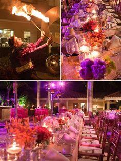 Elizabeth + Kevin's Rehearsal Dinner :: Ritz Carlton :: Naples, Florida :: Petal Pushers :: Michelle Reed Photography