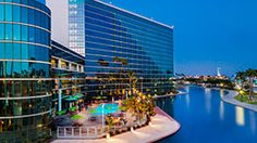 Hyatt Regency in Long Beach / Our digs for the conference