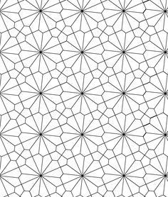 Hexagon tessellation, Visual geometry geometry 2018
