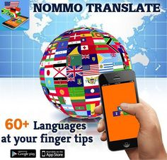A professional app for language translate with an easy access - #NOMMOTRANSLATE