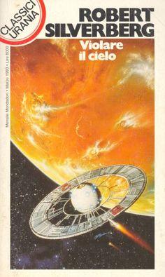 192  VIOLARE IL CIELO 3/1993  TO OPEN THE SKY (1967)  Copertina di  Eggleton   ROBERT SILVERBERG