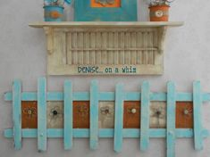 denise...on a whim: A Charming Picket Fence