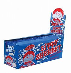 Sweet Hypermarket - Sippy Sherbet 36's Blue (1x36's) Childhood Memories, Toy Chest, South Africa, Growing Up, African, Sweet, Blue, Products, Candy