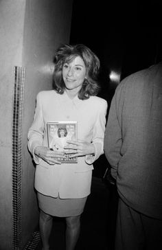 Dawn Steel (August 19, 1946 – December 20, 1997) was one of the first women to run a major Hollywood film studio. Pictured in 1993 with a copy of her book, They Can Kill You... But They Can't Eat You: Lessons from the Front.