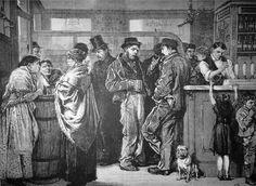 Un assommoir à Londres, février 1879