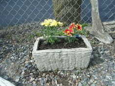 handmade flower pot