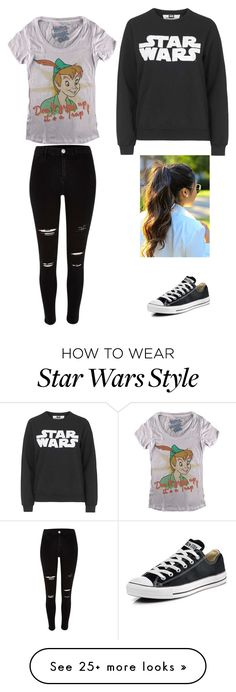 """""""Going To The Movies"""" by dimlkr on Polyvore featuring Converse, Topshop, women's clothing, women, female, woman, misses and juniors"""