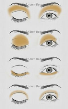 SIMPLIFIED GUIDE TO EYE SHADOW TECHNIQUES PT. 1