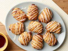 Breakfast Cinnamon Roll Pigs-in-a-Blanket Recipe | Food Network Kitchen | Food Network Sausage Breakfast, Breakfast Dishes, Breakfast Recipes, Breakfast Sandwiches, Breakfast Ideas, Brunch Dishes, Cinnamon Roll Dough, Cinnamon Rolls