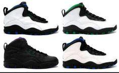 promo code 55975 0db9d Different color 10 s Jordans 2018, Air Jordans, Jordan 10, Urban Looks, Nike