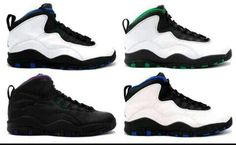 Different color 10's