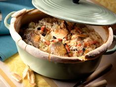 Dutch Oven Recipes, Yummy Food, Tasty, Just Cooking, French Food, Alsace, Food Videos, Entrees, Chicken Recipes