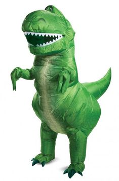 Home Inflatable Raptor Dinosaur T Rex Costumes Women Men Blowup Tyrannosaurus Halloween Costume Deluxe Purim Party Costume For Adults