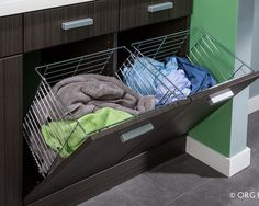 Good idea for laundry and bathroom cupboards