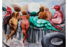 First museum exhibition of Roberto Fabelo's work in the U. opens at the Museum of Latin American Art Cuban Art, Museum Exhibition, Artist Life, Installation Art, Contemporary Artists, American Art, Female Art, Painting & Drawing, Illustration