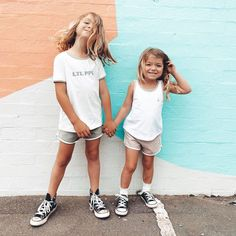 "Tiny Style • Noosa Kids on Instagram: ""These two 😍 ✌🏼twinning in black high tops an absolute fav look . . . . 📸@alaskandustin #converse #twinning #australia #tinystyle…"""