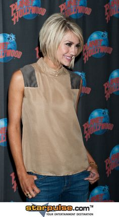 Chelsea Kane - Chelsea Kane Visits Planet Hollywood Times Square in  NYC