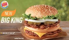 Look out! As if the Whopper didn't do enough damage to the obesity rate in America