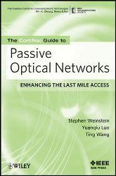 Las redes de fibra óptica pasiva, incluyendo FTTH, en este manual del IEEE