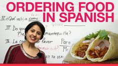 How to order food in Spanish. Oh I am gonna use these resources more. I like this site