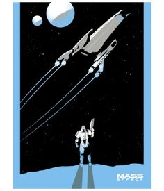 Shepard Triptych Screenprint Poster: Normandy