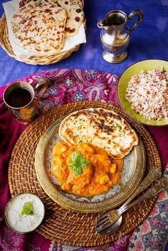 Pollo TIKKA MASALA con Salsa de Yogur Hindú
