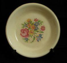 Vintage Bakerite Pie Plate 22 KT Gold Trim | eBay