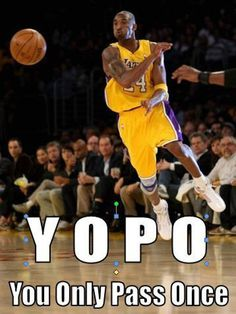 Kobe, WITH THE PASS!