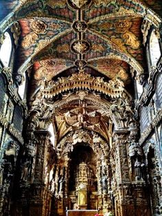 Santa Clara Church Porto #Portugal repinned via our founder @Jonas Andersen Andersen Everets for #WallPinWednesday