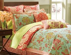 I pinned this from the Amy Butler - Designer Bedding, Rugs & Wallpaper event at Joss and Main!