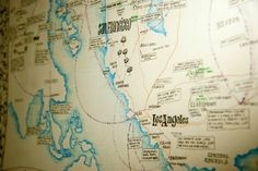 Life Mapping by Katie Tonkovich, via Behance