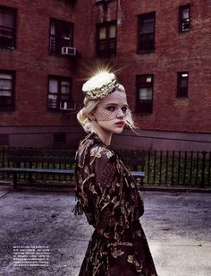 Today Rétro-Chic - Stella Lucia by Craig McDean for Vogue Italia September 2015