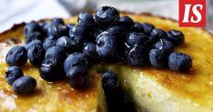 Sitruunainen kakku on keväinen leivonnainen. Risotto, Blueberry, Sweet Tooth, Cereal, Pie, Fruit, Breakfast, Desserts, Food
