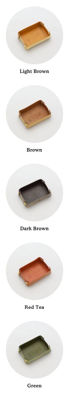 ナチュラルな革の小さなレザートレー | 革小物のDuram Online Shop