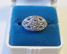 Your place to buy and sell all things handmade Princess Rings, Princess Style, Art Deco Jewelry, Unique Jewelry, Vintage Princess, Gold Art, Gatsby, Diamond Engagement Rings, Jewerly