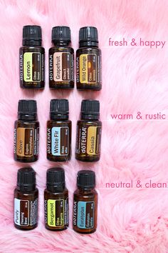 My Favorite Essential Oils to Diffuse at Home | A Beautiful Mess | Bloglovin'