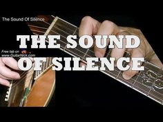 Guitar lesson with free tablature, video tutorial, chords and sheet music. THE SOUND OF SILENCE by Simon & Garfunkel fingerstyle arrangement. Guitar Tips, Guitar Songs, Guitar Chords, Acoustic Guitar, Music Chords, Easy Guitar, Fingerstyle Guitar Lessons, Guitar Fingers, Electric Guitar Lessons