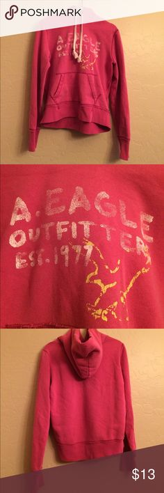 American Eagle Hoodie American Eagle hoodie size M. No signs of wear. American Eagle Outfitters Tops Sweatshirts & Hoodies