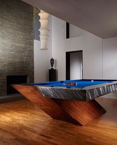 unique pool tables Family Room Modern with Billiard table Contemporary Bar