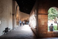 a quiet sunday at the Cloisters + more about blogging