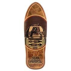 Santa Cruz Skateboards <br> Santa Cruz X Star Wars R2-D2 Collectible Inlay Deck <br> 10.35x31